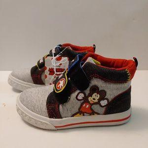 Disney Mickey Mouse Toddler Boys Gray Knit